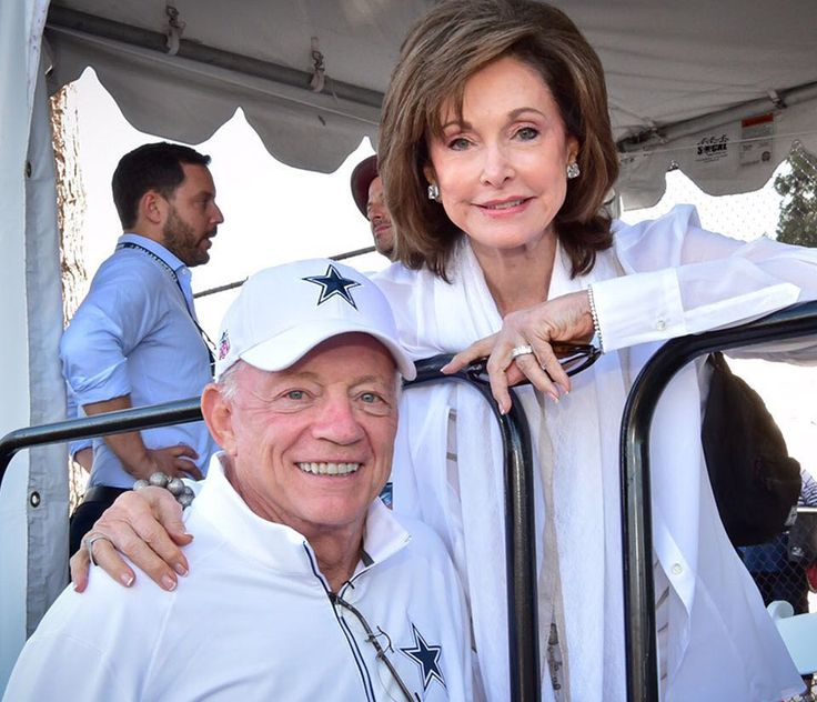 Jerry Jones has officially announced his wife, Gene Jones, as his presenter as he's formally inducted into the Pro Football Hall of Fame.