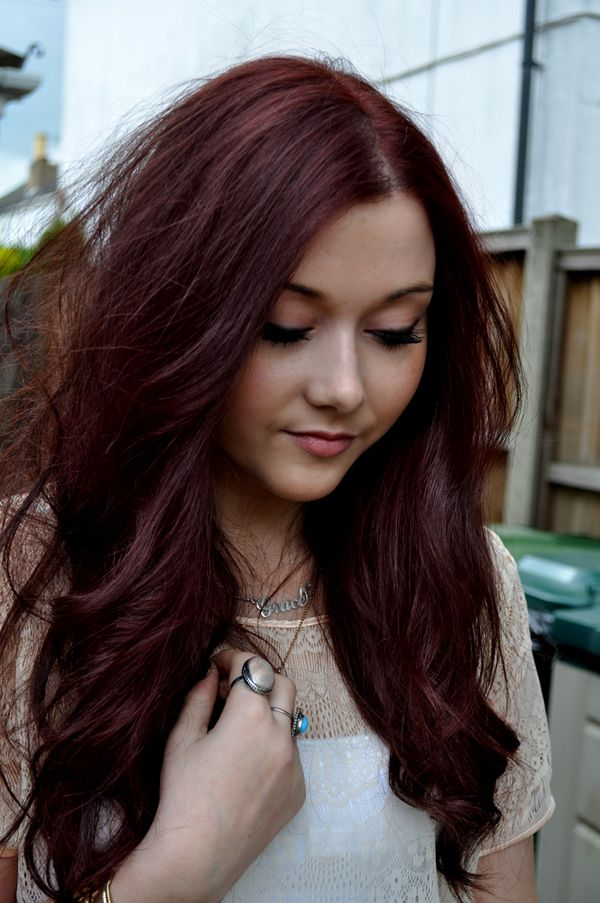 hair colors brown red - photo #43