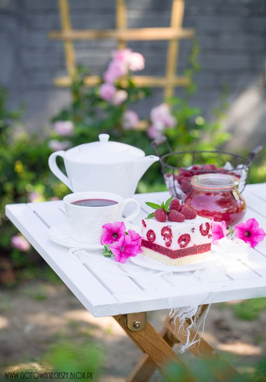 Raspberry cake / Ciasto z malinami