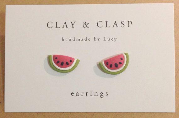 He encontrado este interesante anuncio de Etsy en https://www.etsy.com/es/listing/183656159/watermelon-earrings-beautiful-handmade
