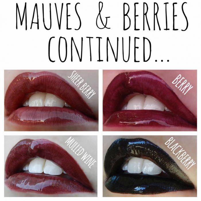Lipsense berries mauve lipstain | Lolly Lips