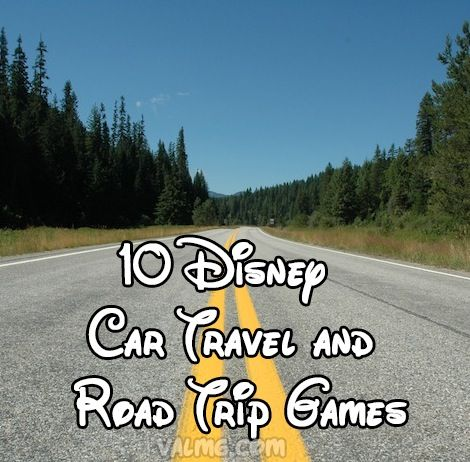 10 Disney Car Travel And Road Trip Games - Mom Knows It All. : Mom Knows It All.