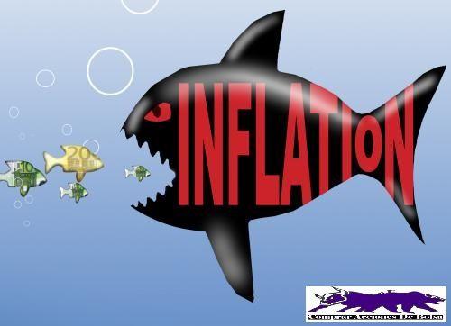 Descubre los efectos de la inflación en la bolsa y como puede afectarnos a largo plazo. Inflación, deflación e hiperinflación.