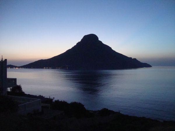 View of Telendos island