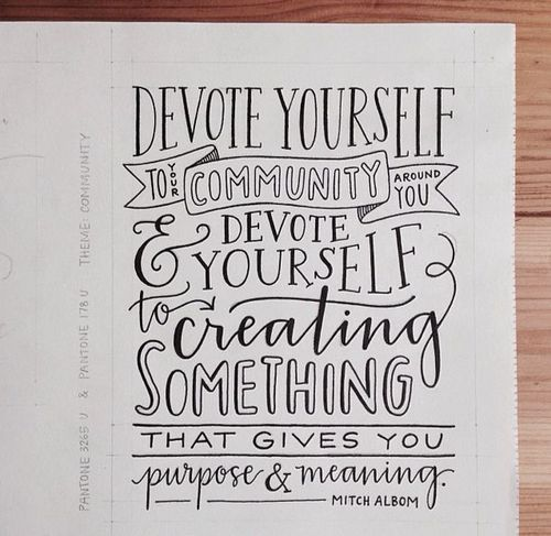 Official Tumblr Of Hand Lettering StylesHand QuotesTypography