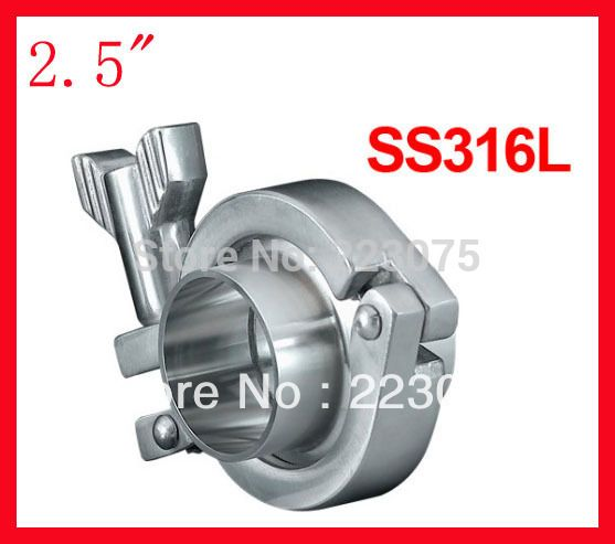 "$24.00 (Buy here: https://alitems.com/g/1e8d114494ebda23ff8b16525dc3e8/?i=5&ulp=https%3A%2F%2Fwww.aliexpress.com%2Fitem%2FFree-shipping-2-5-SS316L-clamp-union-Ferrule-complete-set-2x-ferrule-1xclamp-1xgasket%2F1343213451.html ) Limited Hot Sale Water Cooler Fitting free Shipping 2.5"" Ss316l Clamp Union/ Ferrule Complete Set (2x + 1xclamp 1xgasket) for just $24.00"