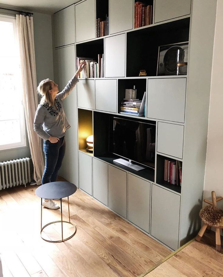 Caroline Andreoni   Einbauschrank wohnzimmer, Ikea ...