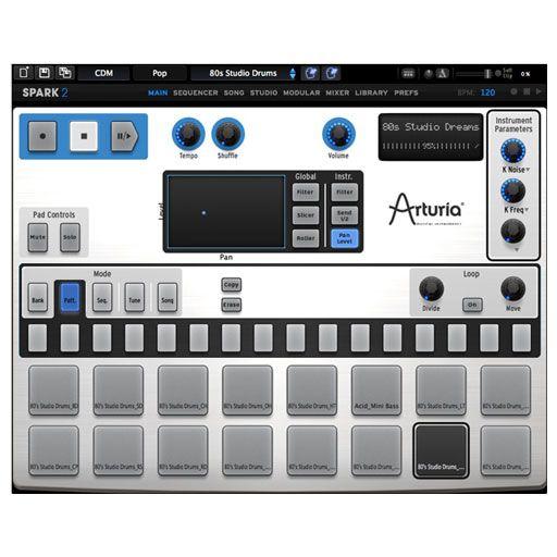 Arturia Spark 2 Virtual Drum Machine [Download]