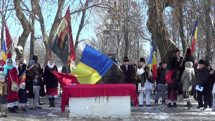 Imnul național la Ruginoasa de Ziua Unirii