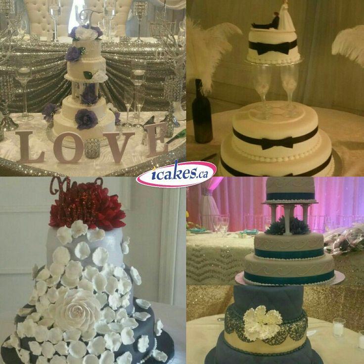 Few innovative wedding cakes. #weddingcakes #wedding #cakestoronto #cakesbrampton #icakes #cakesmississauga #cakesvaughn #gtacakes