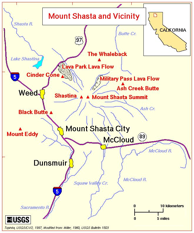 Mount Shasta and Vicinity