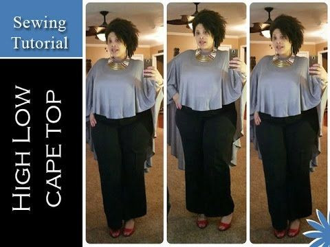 Nadira037   DIY   How to Make a Cape Maxi Dress - YouTube
