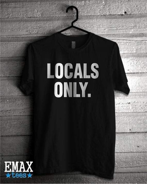 Locals Only T-shirt 9dcb467e2c57