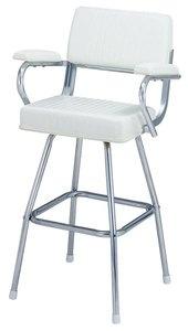 Garelick Boat Chairs ... /boat-engine-parts/boat-parts/garelick-white-pilot-c… | Pinteres