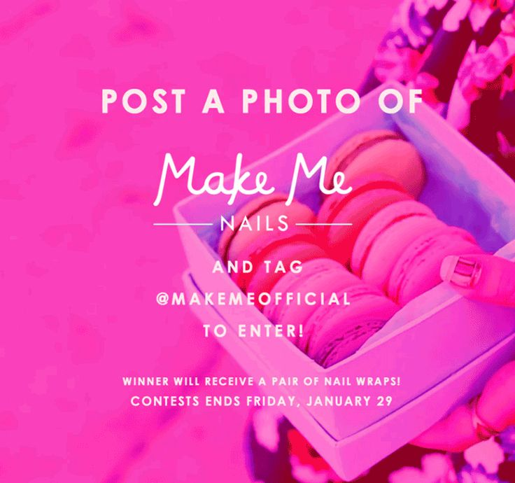 Post a photo of your Make Me Nails and win a pair of nail wraps ...
