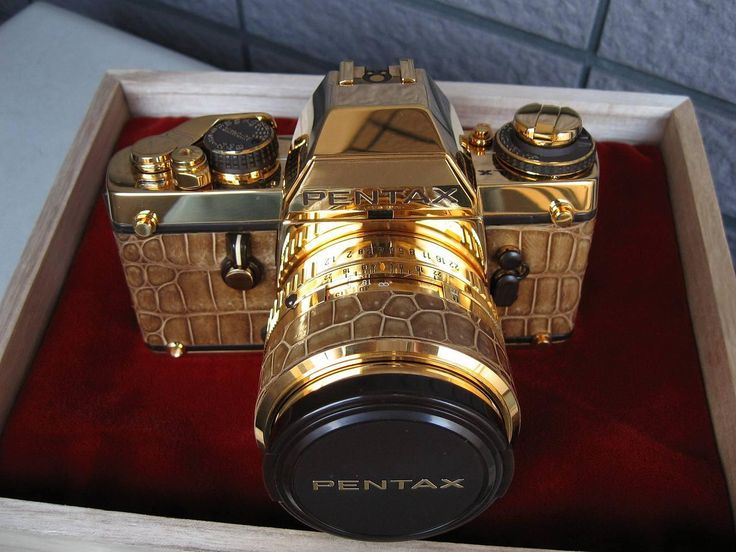Pentax camera creating memories