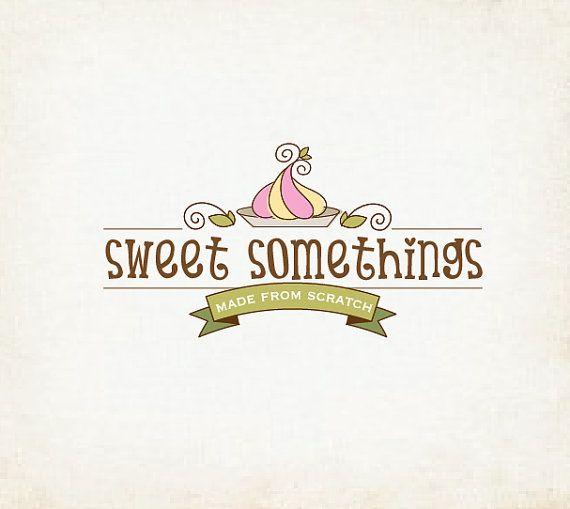 Bakery Logo Design On Etsy Desserts Pinterest