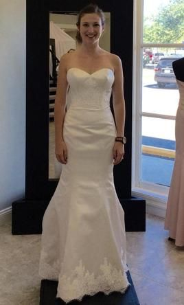 Justin Alexander 6: buy this dress for a fraction of the salon price on PreOwnedWeddingDresses.com #wedding #mybigday