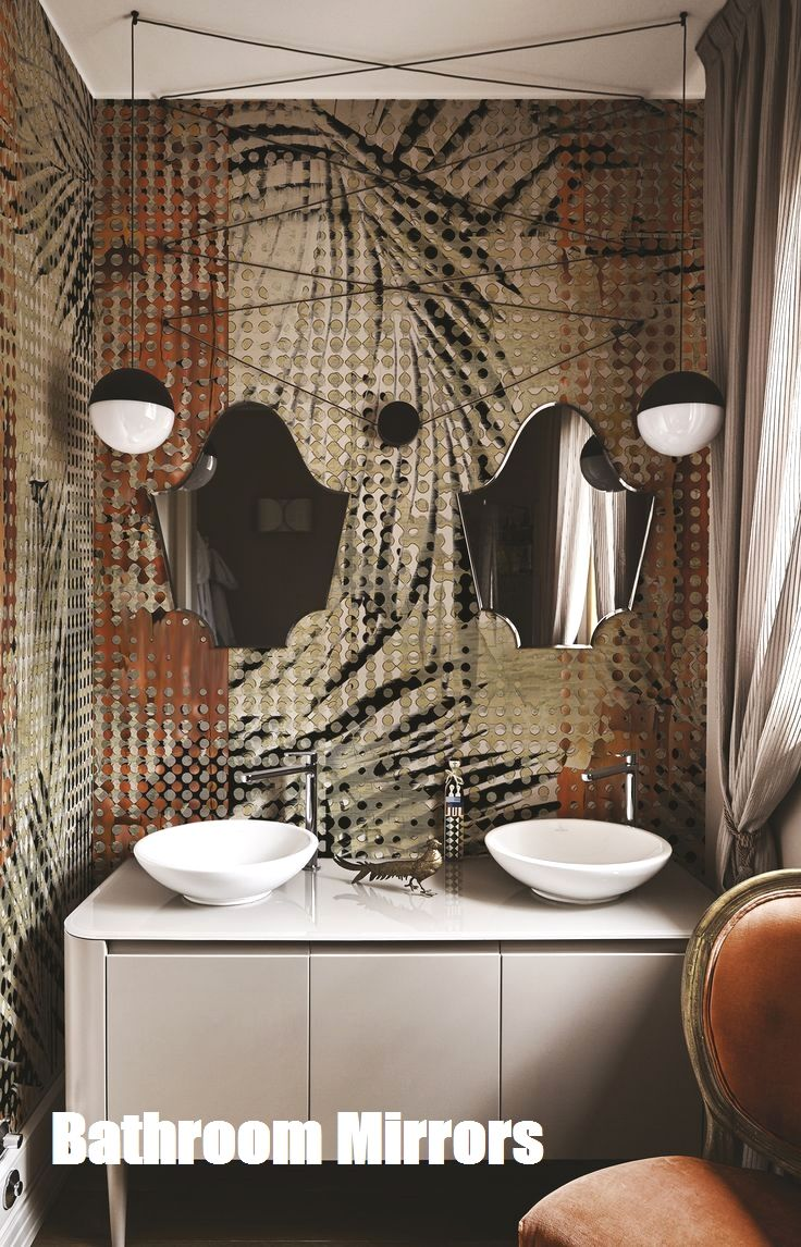 Bathroom Mirrors Stylish Bathroom Bathroom Interior Bathroom