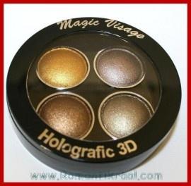 Iets meer dan 4 euro! OS13 Editt Oogschaduw Holografic 3D Glans Goud Brons Bruin