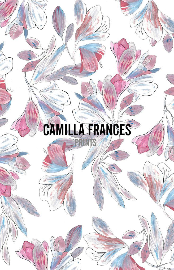 { delicate } Camilla Frances Prints