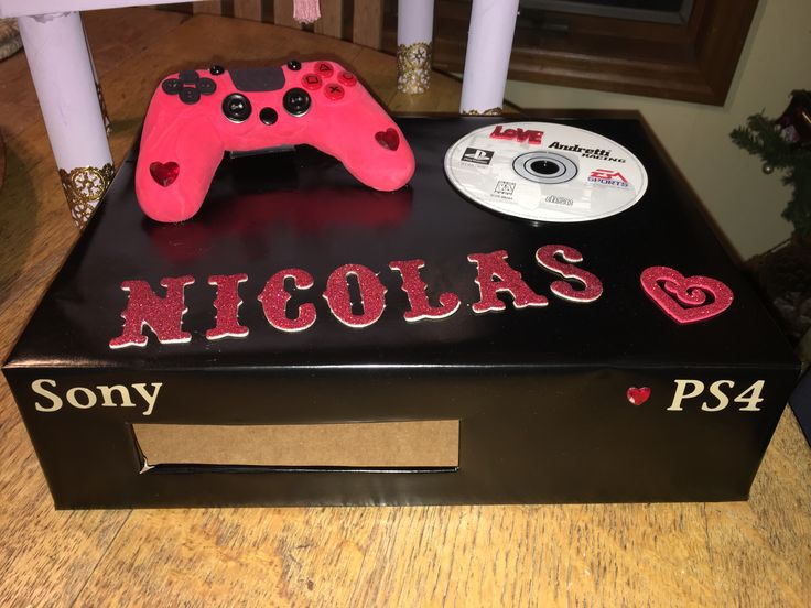 d58d295329967bee014cec262bf972c6 valentine box - PS4 Valentine box