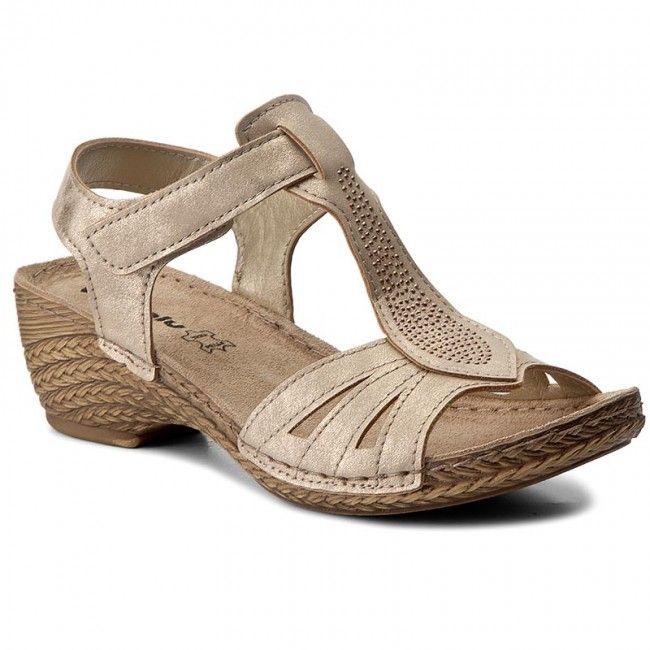 Sandale INBLU - TRBBOO19 Auriu