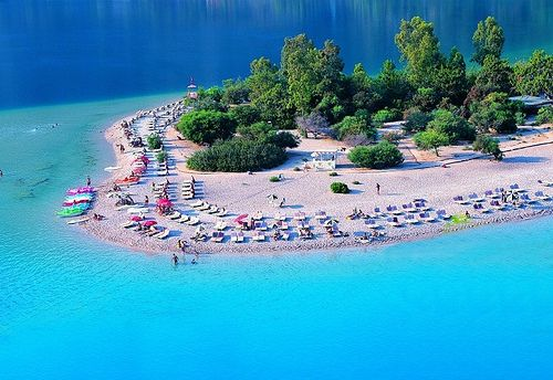 Oludeniz Beach is a ravishing bay with relaxed atmoshpher. It is famous as a symbol of Oludeniz all of turkey and its one of the most incredible beach of Turkey. The Blue lagoon has calm and crystal clear water which makes it classic for a water sports activities.  www.travelxcapes.com