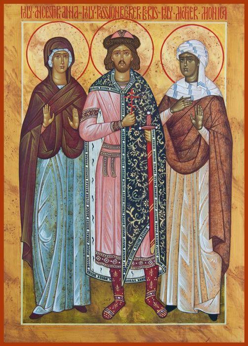St. Anna, St. Boris and St. Monica