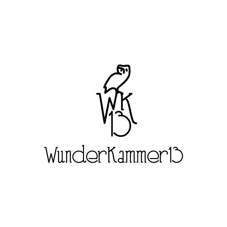 Logo for Wunderkammer 13 #graphic #logo