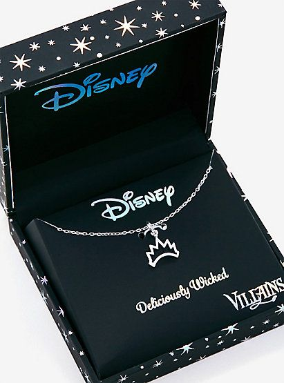 Disney Snow White And the Seven Dwarfs Evil Queen Crown Necklace - BoxLunch ExclusiveDisney Snow White And the Seven Dwarfs Evil Queen Crown Necklace - BoxLunch Exclusive,