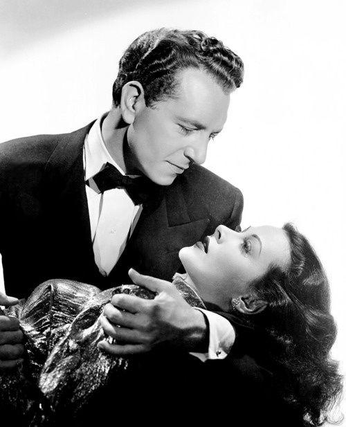 Hedy Lamarr and Paul Henreid, The Conspirators (1944).
