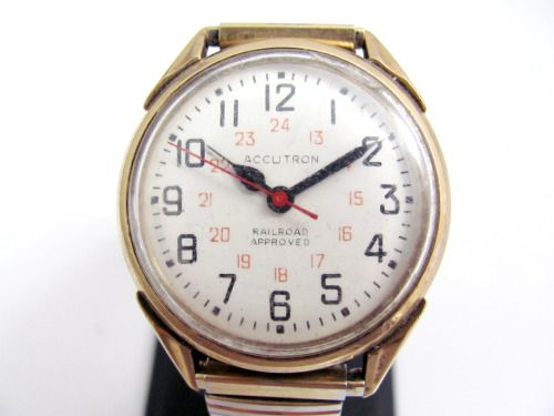 Vintage 1972 Bulova Accutron Railroad Approved Watch. #shopgoodwill #goodwill #auction