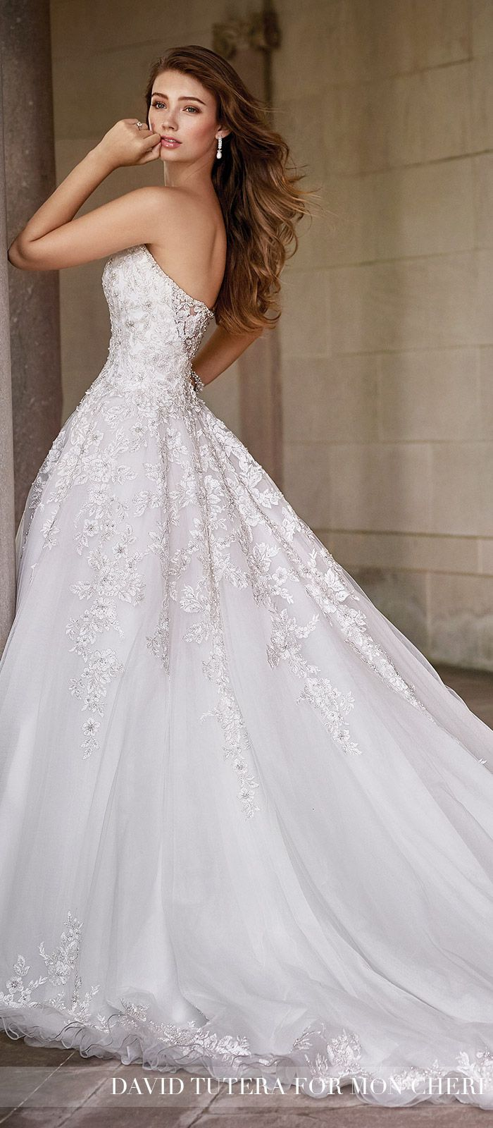 Wedding Dress by David Tutera for Mon Cheri 2017