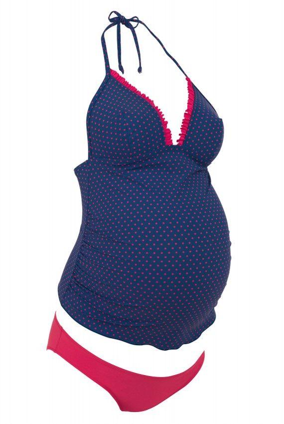 Maillots de bain grossesse - Bikini pour femme enceinte // Cute Pregnancy Swimsuit - Bikini Protection Solar Mamma Fashion http://www.mammafashion.com/