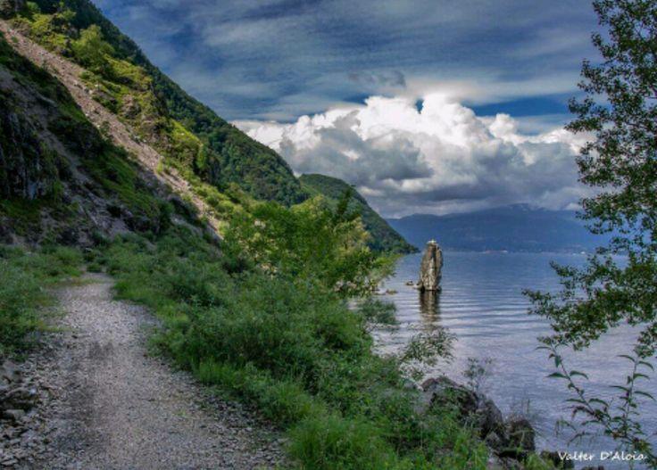 Sas Galet. Lago Maggiore.