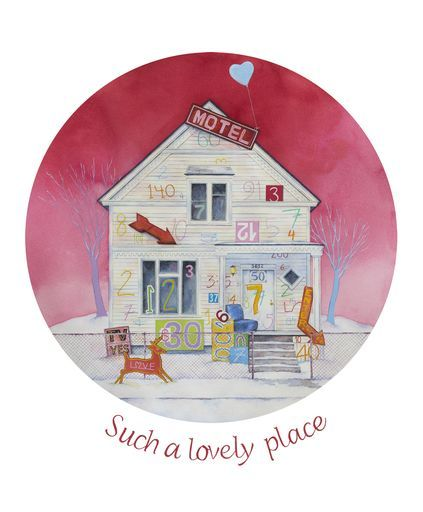"Check out my art piece ""Such a Lovely Place"" on crated.com"