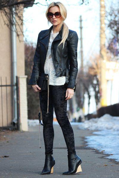 Velvet+leggings