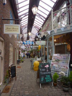 The Yard Tearooms, Leek, Staffordshire