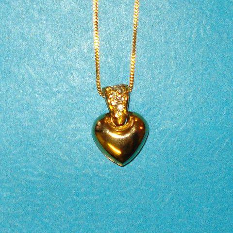 Bubble Heart Necklace - Mookie Designs Vintage