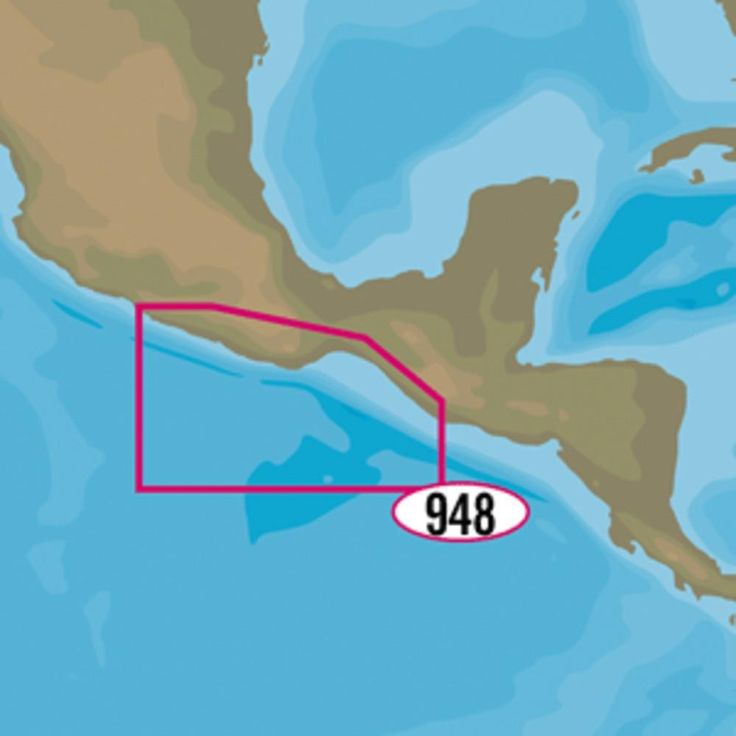 C-MAP MAX-N+ NA-Y948 - Champerico, GT to Acapulco, MX