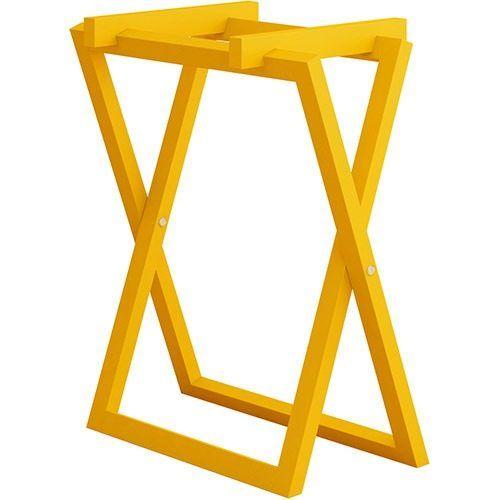 Cavalete Amarelo Para Tampo Computadora Bancada Colorido