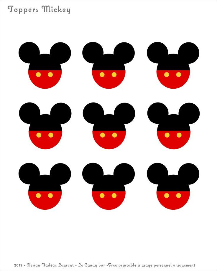 Mickey Mouse Birthday Banner Free Printables I Am Sure