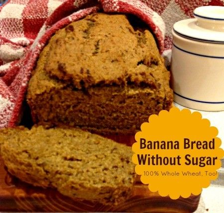 Trying to eliminate refined sugar from your family's meals? You'll love this moist, easy banana bread recipe. It freezes beautifully, too.