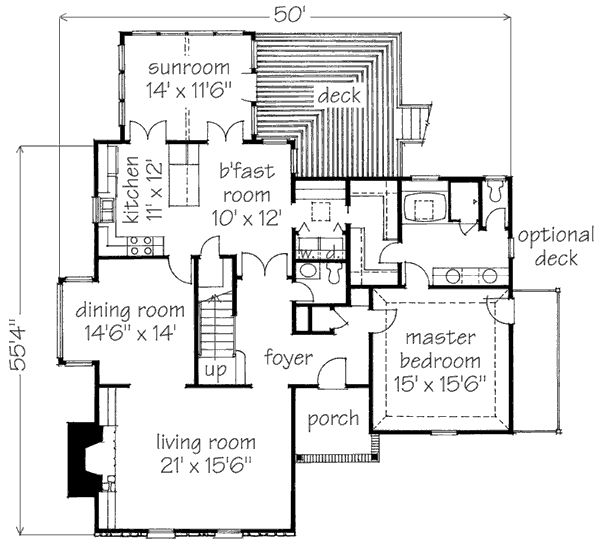 Sun room off the kitchen small house plans pinterest for Laundry room connected to master closet