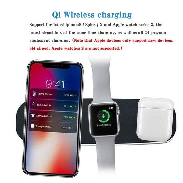 mjack® Qi Wireless Charging Pad Phone Charger For IPhone 8