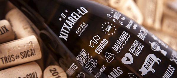 Un vino blanco que recupera en la etiqueta los mejores insultos catalanes que provienen de los agricultores. El creador de la imagen de marca es Albert Virgili.