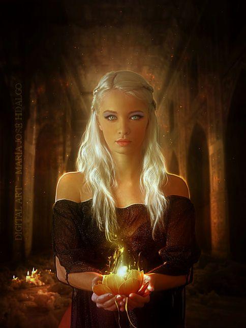 Flor en llamas by MariaJoseHidalgo on DeviantArt