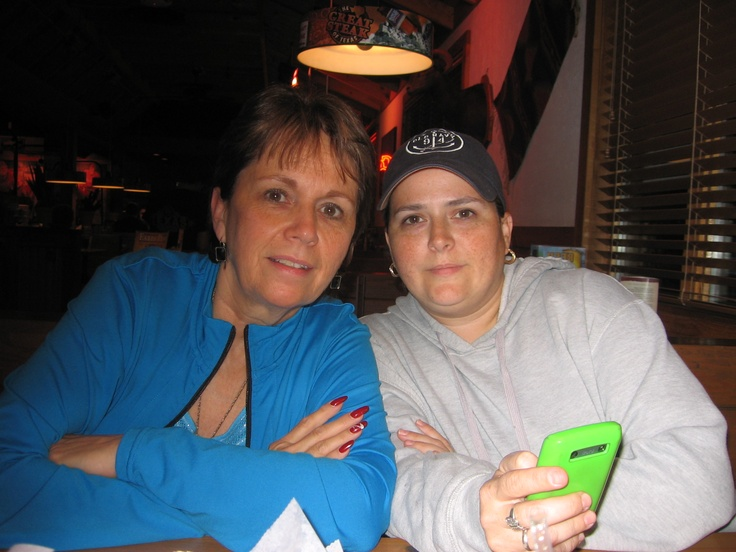 Cathy and her daughter Carrie