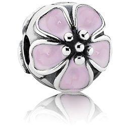 Cherry Blossoms Clip w-Pink Enamel